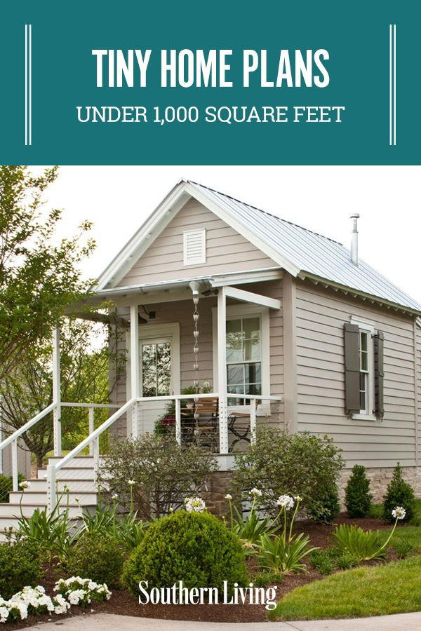 1 000 Square Foot Or Less Makeovers Southern Living House Plans Ranch House Plans Tiny House