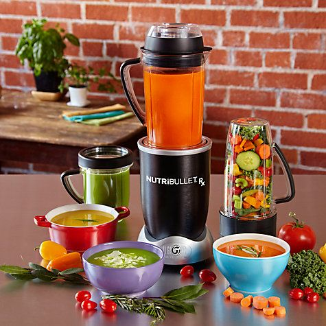 Buy NutriBullet Rx Juicer Blender, Black Online at johnlewis.com