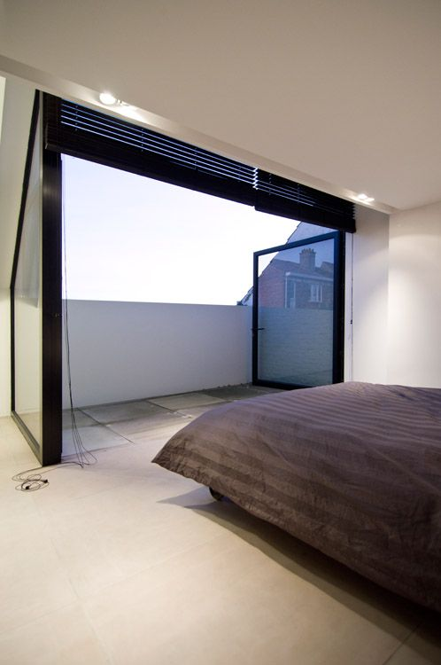 Loft Conversion - bruno vanbesien architects House CM Asse / Belgium, 2011