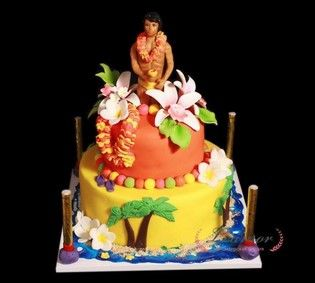 Торт Гавайские ласки