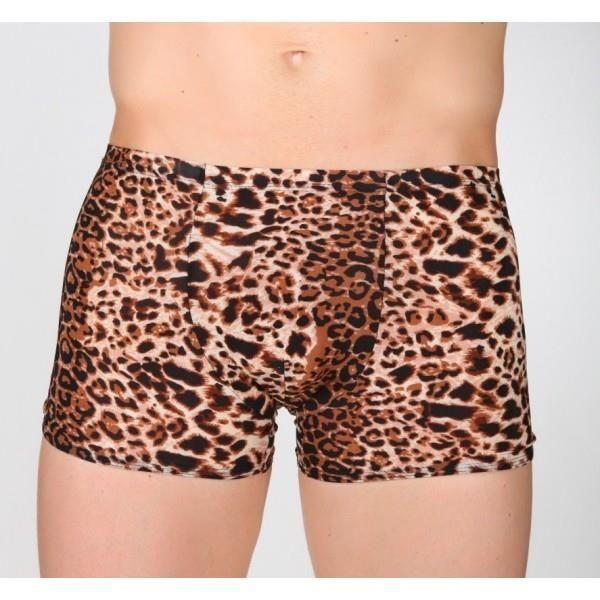 Мужские леопардовые трусы шорты
