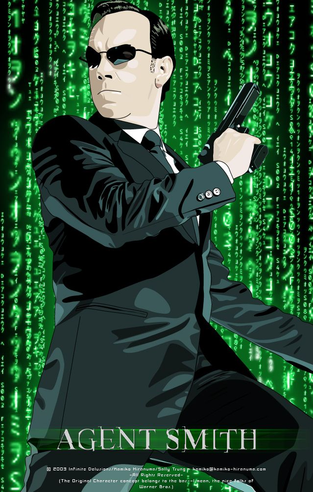 Hugo Weaving - Agent Smith in the Matrix by Mifuyne on deviantART