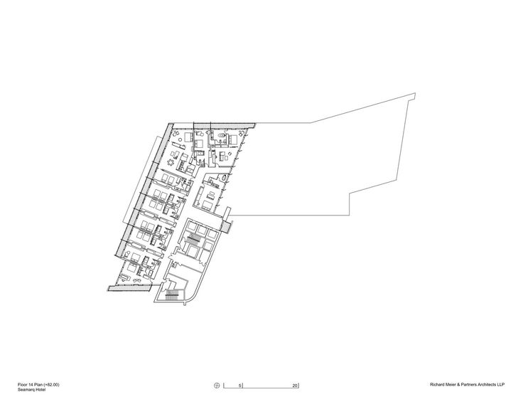 Gallery of Seamarq Hotel / Richard Meier & Partners - 14