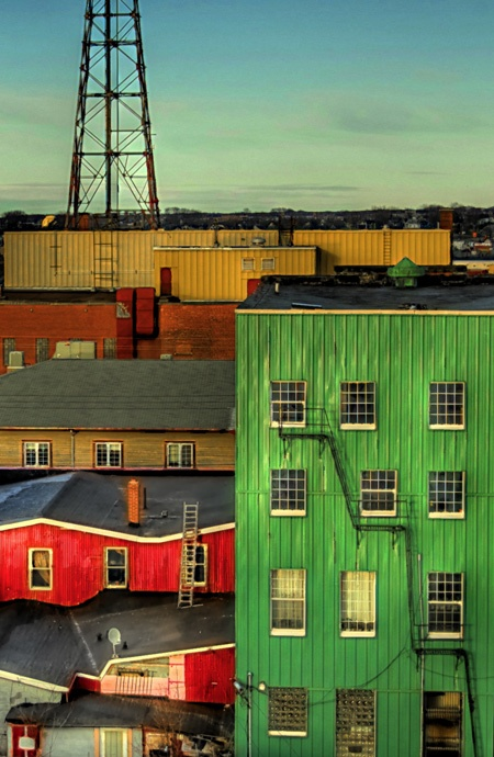 Sydney, Nova Scotia by @hey O'Doherty