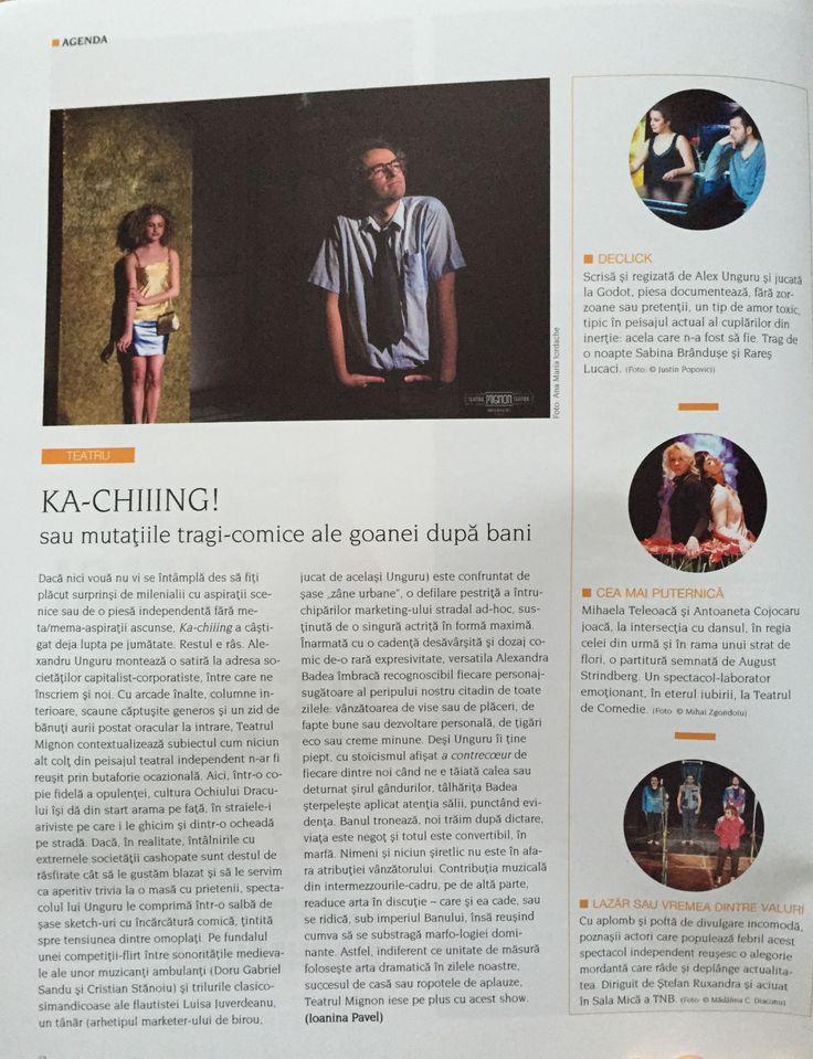 Ka-chiiing @ MIGNON Indie Theater [Igloo, aprilie 2015]  