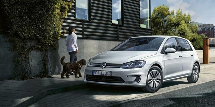 VW e-Golf: Golfstrom #News #Motor