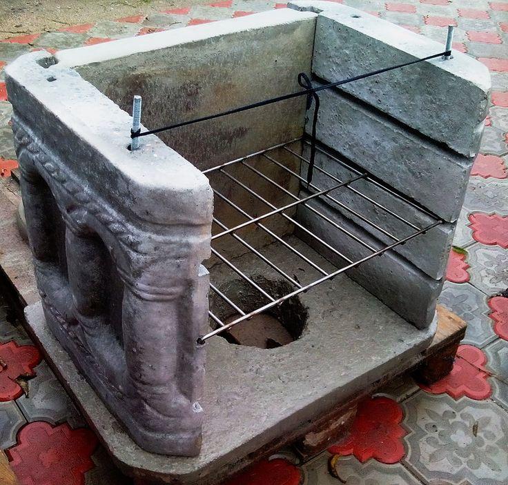 Технология изготовления бетонного барбекю как сделать беседку барбекю