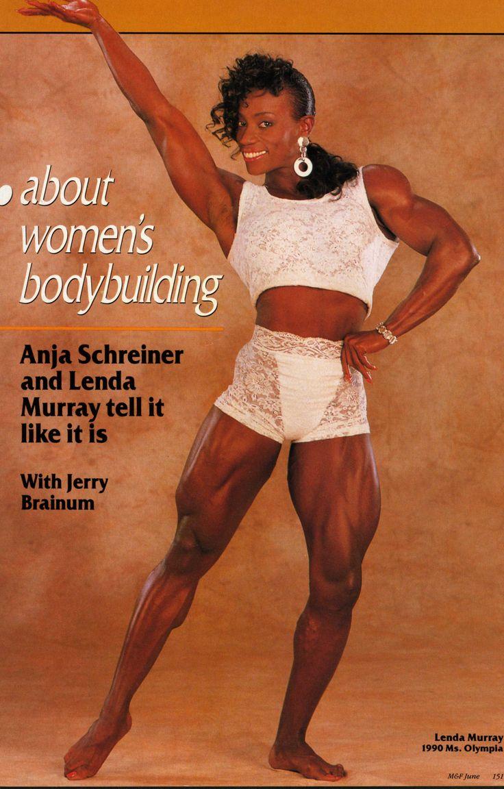 Lenda Murray | Retro Bodybuilding | Pinterest | Fit black