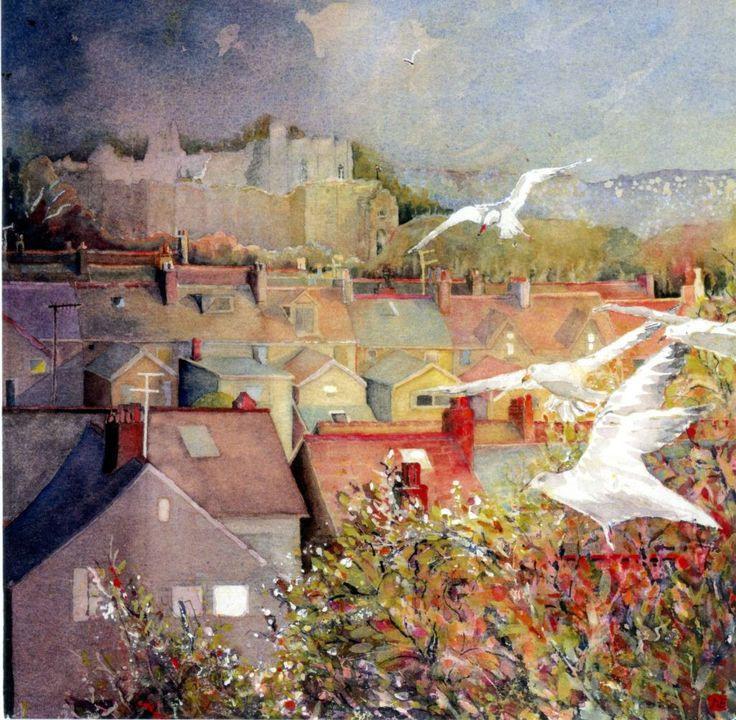 Oystermouth by Nan Edwards winner of the Premium Art Brands Award