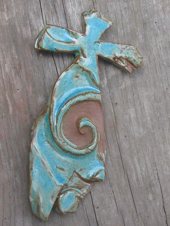 17 Best Images About Pottery Crosses On Pinterest