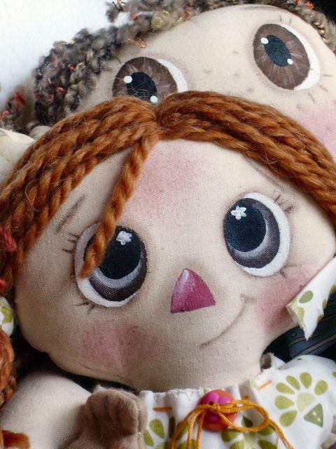 IMGP0251 by tildaspassion, via Flickr. me encanta el maquillaje de esta muñeca!!!