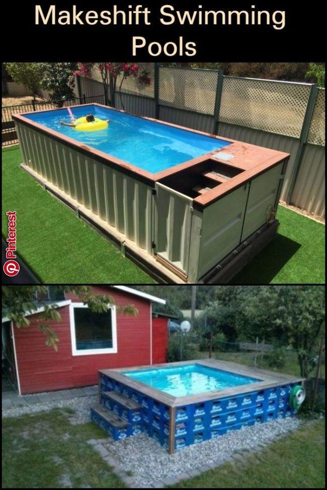 Makeshift Swimming Pools | Diy schwimmbad, Gartenpools und ...