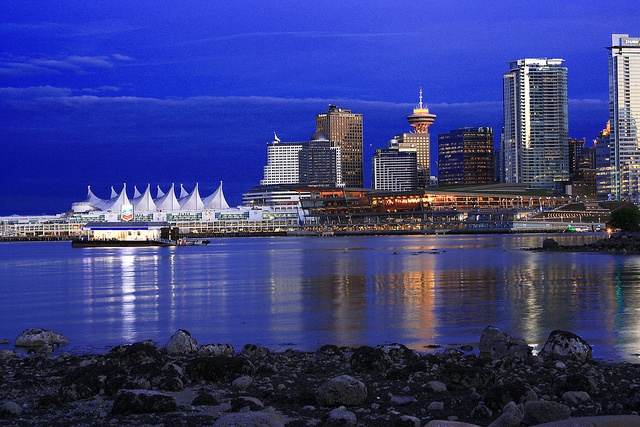 Downtown Vancouver from Stanley Park by The Silent Man_, via Flickr