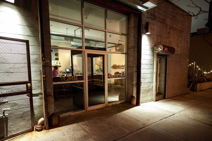 The exterior of 1 or 8, a Japanese restaurant in Williamsburg that's home to one of the best sushi counters in town.