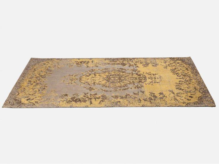 Dywan Kelim Pop żółty — Dywany — KARE® Design