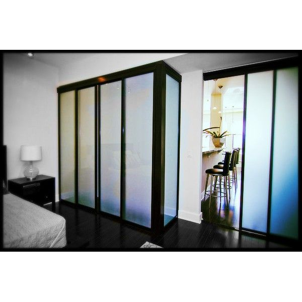 Double Up Your Sliding Doors To Create A Room Divider Or Closet! The  Opportunities Are