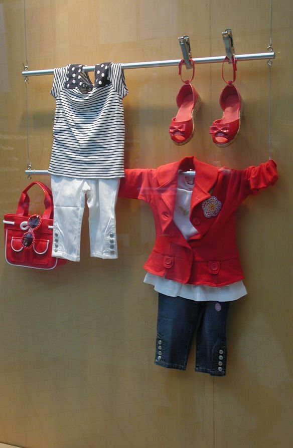 Simple back to school display for any consignment, resale, or thrift shop
