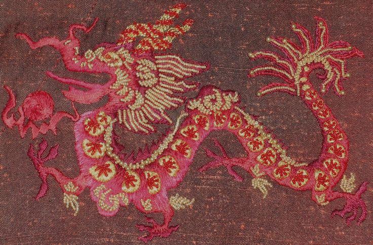 dragon beadwork