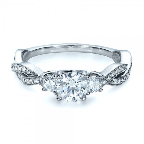 25 best ideas about three stone engagement rings on pinterest 3 stone engagement rings three diamond ring and 3 stone diamond ring - Stone Wedding Rings