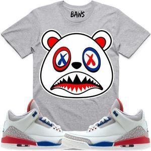 dccb9e05c07c Baws T-Shirt USA BAWS Sneaker Tees T-Shirts - Jordan 3s International Flight