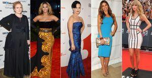 Descubra o peso de Beyoncé, Adele, Angelina Jolie e outras celebridades!  - Saiba qual a altura e o peso de estrelas de sucesso, como Lady Gaga, Katy Perry, Taylor Swift, Angelina Jolie, Sofia Vergara e outras musas de Hollywood!