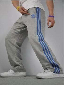 I'd wear the heck out of these to bed and grocery shopping. I need these! Mens Adidas Pants-1
