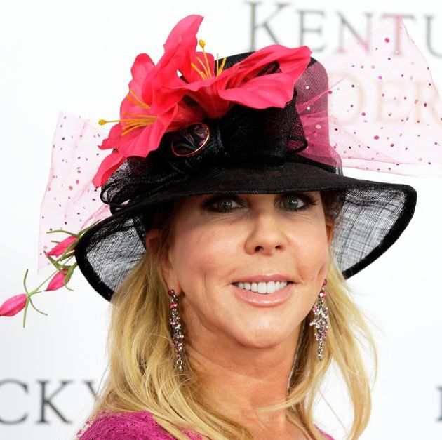 """The Real Housewives of Orange County"""" star Vicki Gunvalson attended without her fellow castmates."""