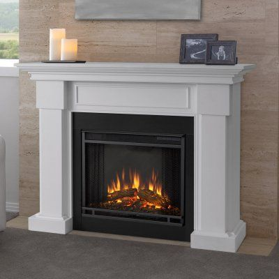 Real Flame Hillcrest Electric Fireplace - 7910E-W