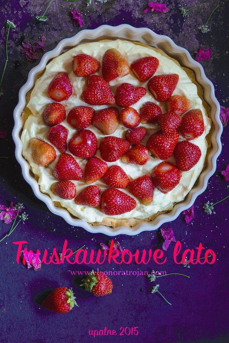 tarta truskawkowa / strawberry tart #summer #strawberries