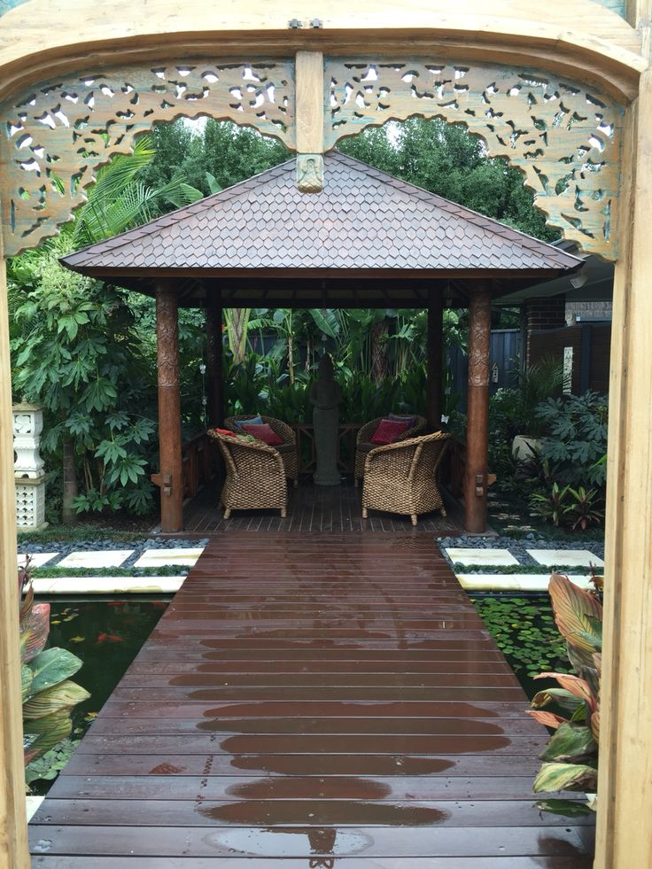 215 best images about bali huts on pinterest bali garden for Balinese garden design
