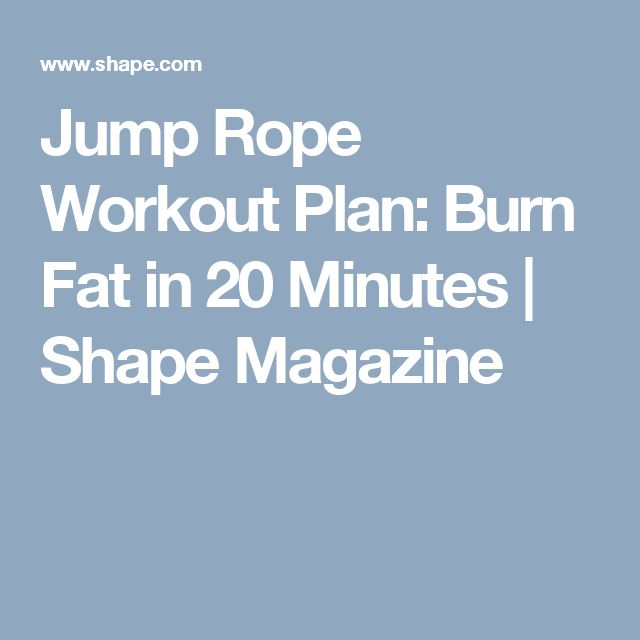 Best 25+ Jump rope workout ideas on Pinterest | Jumping ...