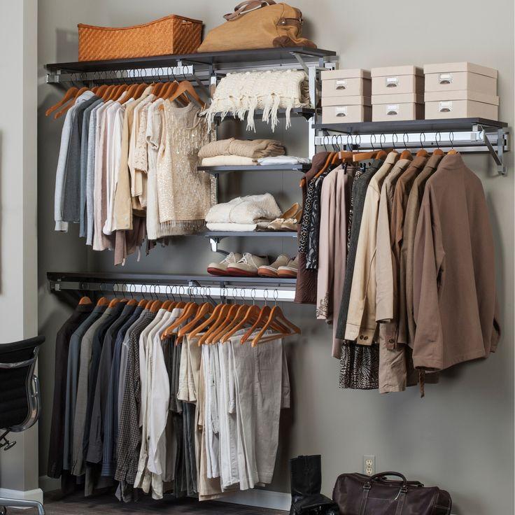 Orginnovations Inc Arrange a Space Best Closet Shelving System I