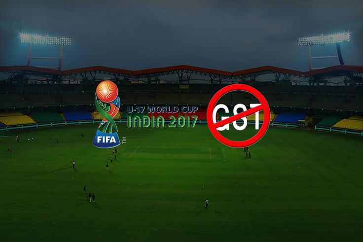 The FIFA U-17 World Cup tickets would not be affected by GST, according to Local Organising Committee (LoC) tournament director Javier Ceppi.