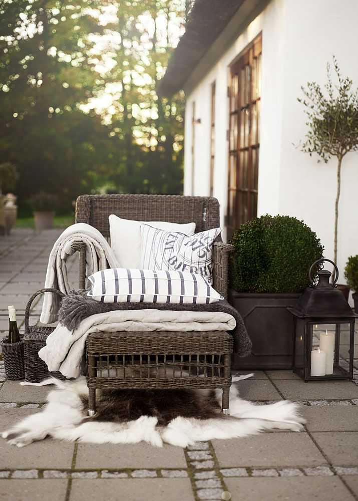 Lene Bjerre - SPRING 2013. LAUREN and LAURIE cushions (iten no. 643316723 and 643416817) GEORGINA chair (item no. 451008106) IRMA picnic basket (item no. 434404406) FLORALINE lantern (item no. 437805307)