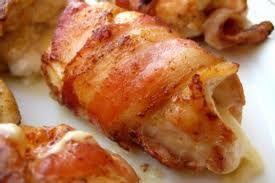 Pechugas De Pollo Rellenas De Queso Con Bacon (receta De Navidad)