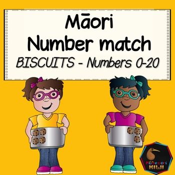 Maori counting activity for New Zealand Primary schools!