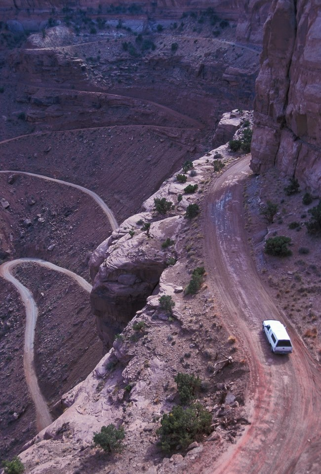 Shafer Trail - Moab Utah / Just one of High Point's approved Jeep Trails.