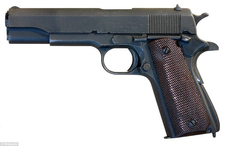 The Colt 1911 pistol has served the U.S. military from 1911 until the present day. Special operations forces still carry the reliable .45-caliber pistol in combat