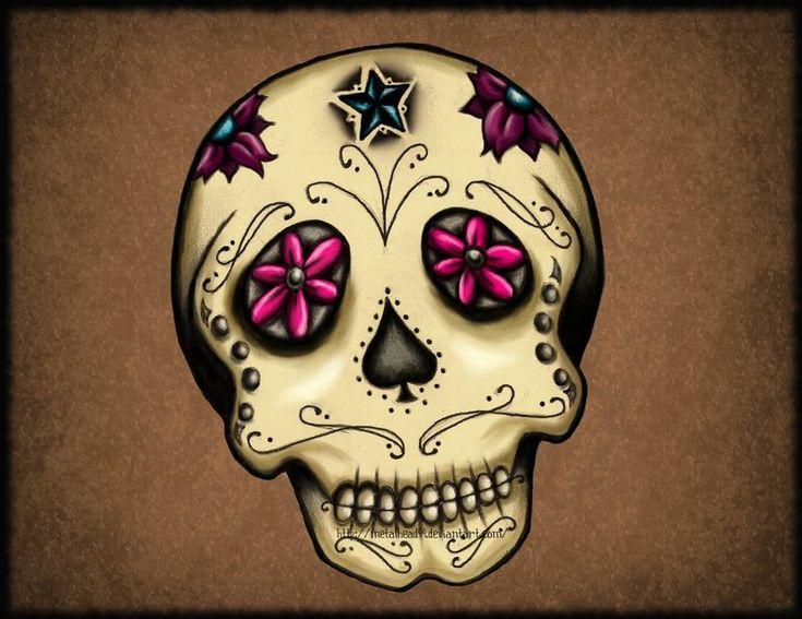 mexican skull wallpaper - Buscar con Google
