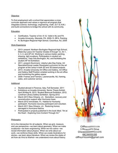 23 best Artist resumes images on Pinterest Curriculum, Design - demolition specialist sample resume