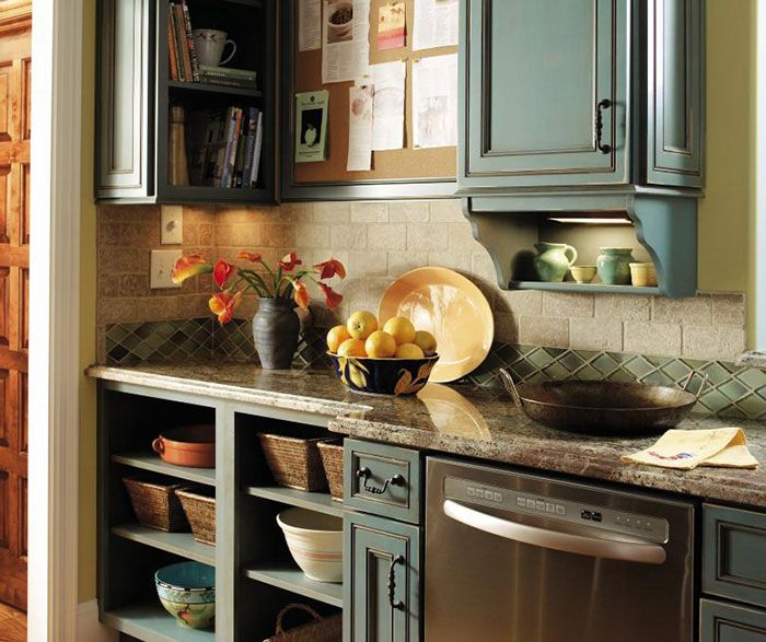 Teal Kitchen Oak Cabinets: 1000+ Ideas About Turquoise Kitchen Cabinets On Pinterest