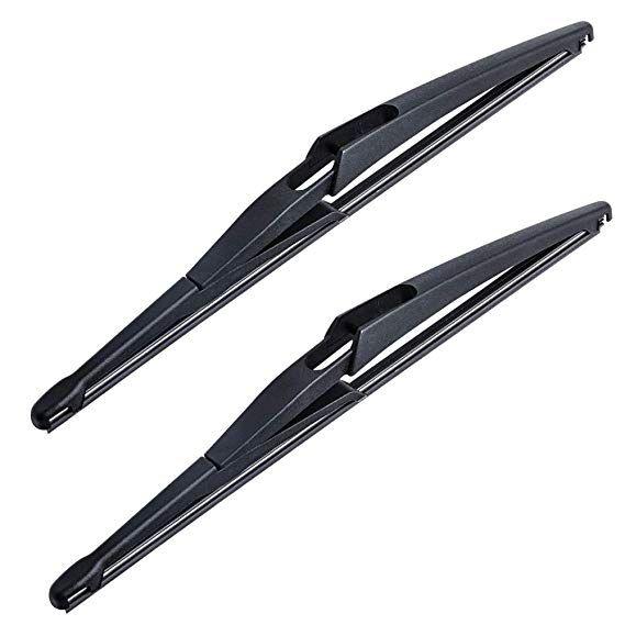 Otuayauto Rear Windshield Wiper Blades 2 Pieces Of 12 Car Back