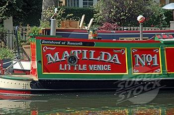 Little Venice, Matilda' Canal Boat'