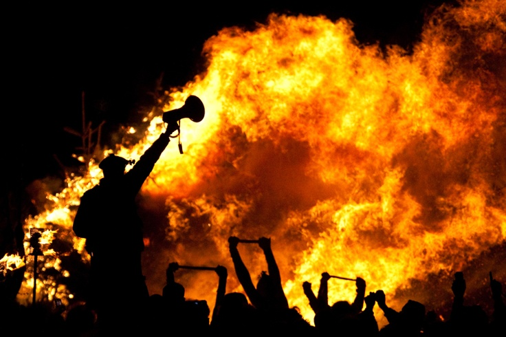 Beltane Festival - Edinburgh, Scotland - Will Go!!- Dance around fire naked and painted red!