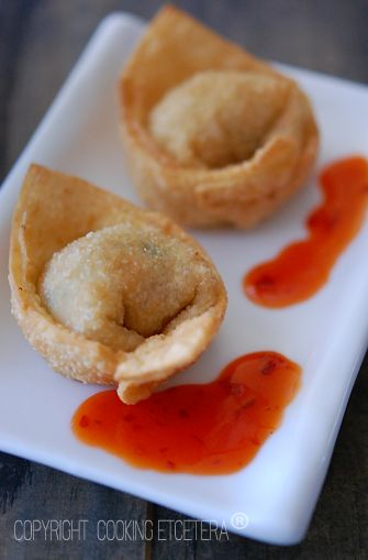 crispy fried wontons | Recipes - Appetizers | Pinterest