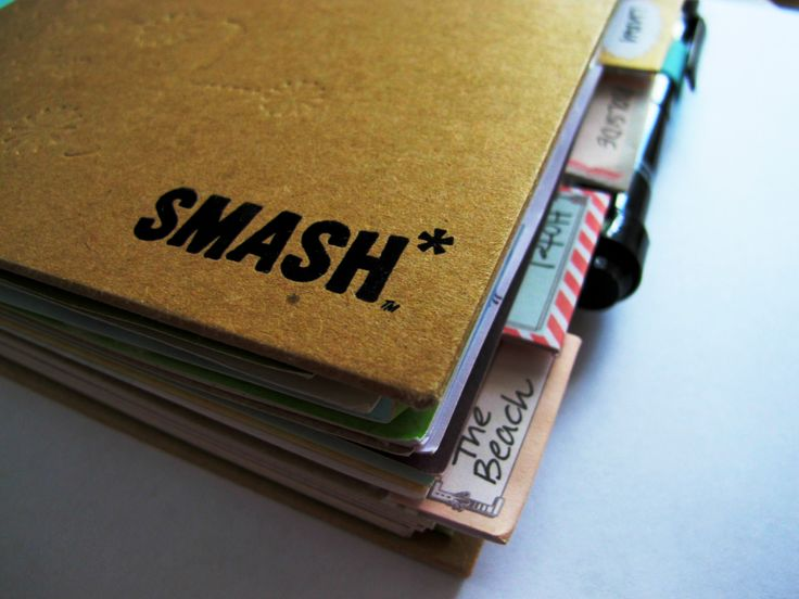 SMASH book.....an alternative to scrapbooking and probably about to become my new obsession.