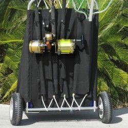Utilacart® Folding Beach & Fishing Cart | Beach Carts — Carts On The Go