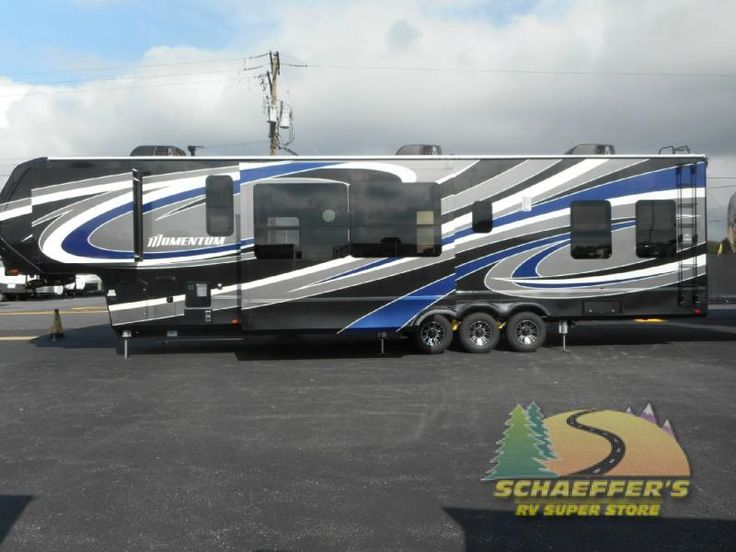New 2017 Grand Design Momentum 399TH Toy Hauler Fifth Wheel at Tom Schaeffer's RV Superstore | Shoemakersville, PA | #11641