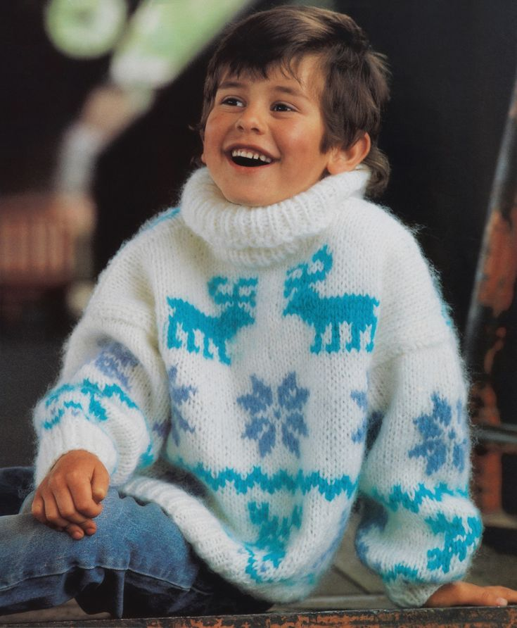 boys kids mohair sweater, photo from gjestal fjorda knitting pattern fuzzy fluffy childrens