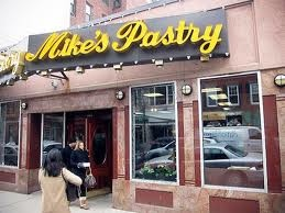 Mike's Pastry  Boston, MA.  Ohhhhhh...cannoli!!